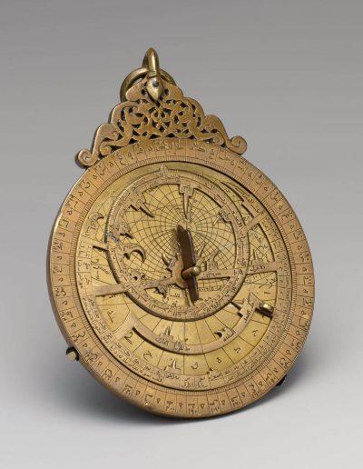 Astrolabio árabe medieval