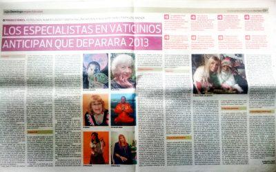 Nota en Diario Popular